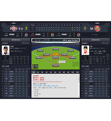 KBO Pitch-by-Pitch Commentary Service image
